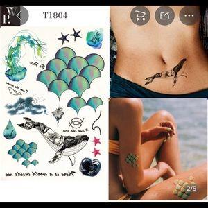 Other - Mermaid Temporary Tattoos Beach Nautical Summer